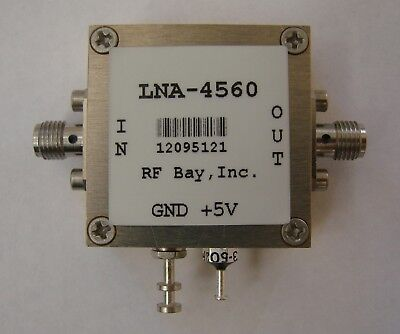 4500-6000MHz 1.1dB NF Low Noise Amplifier, LNA-4560,SMA