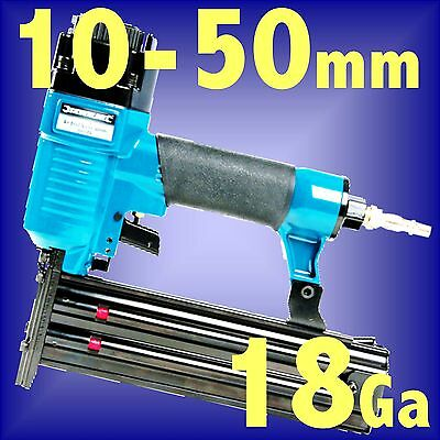 50mm AIR BRAD NAILER STAPLER gun tool INC VAT