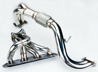 STAINLESS EXHAUST 4-2-1 MANIFOLD DOWNPIPE FOR MG MGF 1.8i VVC 118HP/143HP 95-00