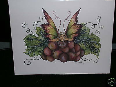 Amy Brown - Grape Faery - OUT OF PRINT