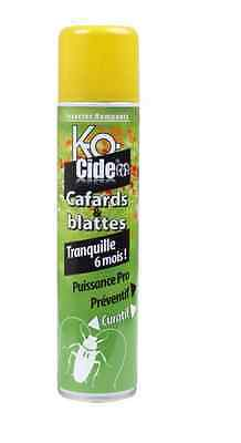INSECTICIDE FOUDROYANT LAQUE CAFARDS BLATTES KOCIDE efficace 6 MOIS