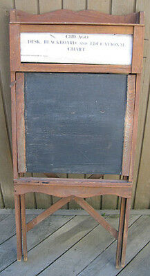 1915 Sears Chicago Child's Blacboard / Desk / Learning