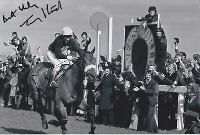 REPRINT #155 RED RUM FLETCHER McCAIN STACK SIGNED A4 PHOTOGRAPH GREAT GIFT #