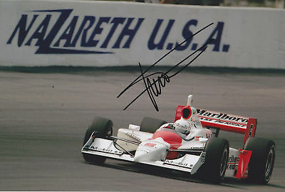 Gil De Ferran Hand Signed Photo 12x8 6.
