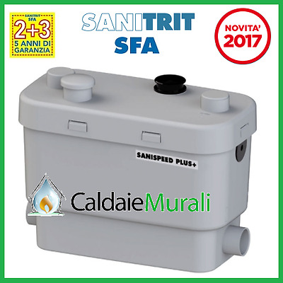 Pompa Per Acque Chiare Sfa Sanitrit Modello: Sanispeed Plus+ - New