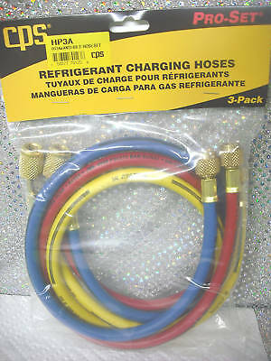 "CPS PRODUCTS  60"" Charging Hose Set w/ABB Valves #HP5A"
