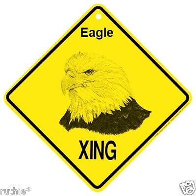 Eagle Crossing Xing Sign New