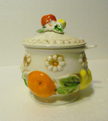 Fred Roberts Japan Covered Jelly Jam Condiment Bowl