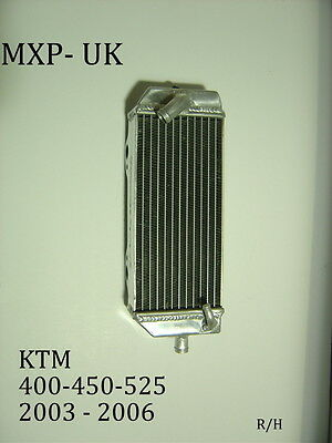 Ktm450Sxf Radiator 400 525 2003 2004 2005 2006 Right Side Rad 450Sxf (005B)
