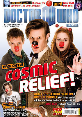Dr Who Magazine # 432: 6 April 2011 Cosmic Relief