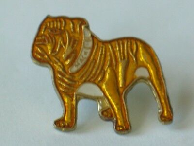 Bulldog Pin , Vintage Mack Bulldog Enamel Lapel Pin (**)