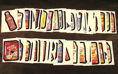 2011 Topps Wacky Packages ANS8 Series 8 COMPLETE BASE SET of 55 stickers nm+