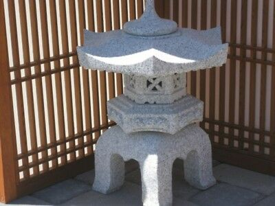 "18"" Granite Stone Yukimi Lantern - Pick Up Only"