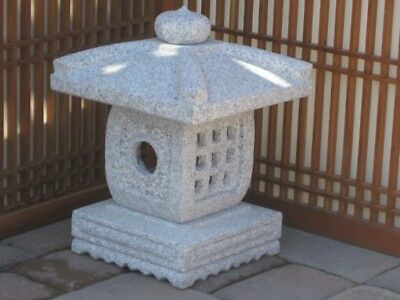 "15"" Granite Stone Tengatyaya Lantern - Pick Up Only"