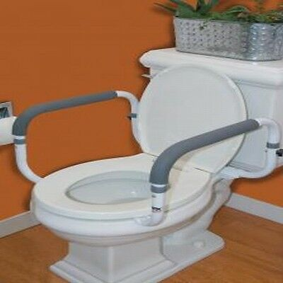 Carex Toilet Support Rail Safety Frame Handle B368-00