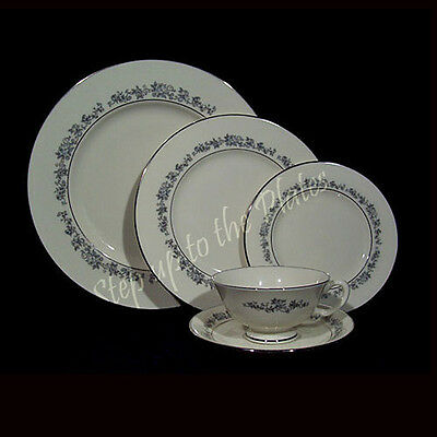 Lenox China PROMISE 5 Piece Place Setting /s ~ Minty