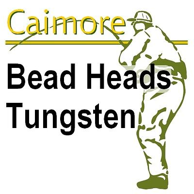 Fly Tying Bead Heads - Tungsten - Choice of Colours