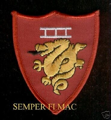 3RD Marine Amphibious Force HAT PATCH Expeditionary III MEF US MARINES PIN UP