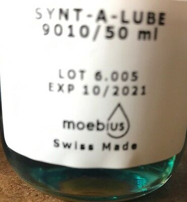Moebius 9010 synt a lube 1 ml Oil Watch suisse remplissage 1 ml