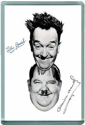 Laurel & and Hardy AUTOGRAPHS #2 Fridge Magnet