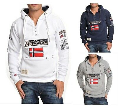 Geographical Norway Sweatshirt Pullover Gym S - XXL