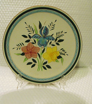 Stangl Pottery Center Hole Dinner Plate Country Garden