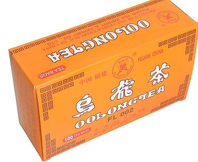 Oolong Tea Bags Aid Diet Weight Loss Slimming Detox Chinese x 100 Wulong