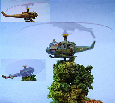 GHQ miniatures suitable for Battletech Huey Helicopter