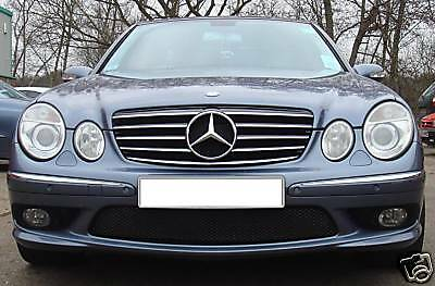 Mercedes W211 E Class CL Style grill grille Black AMG Style Models to 2006