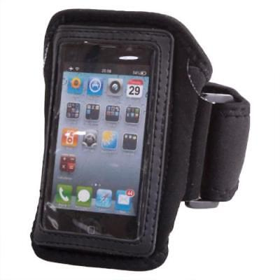Gym Running Sport Armband Case For Apple Touch 4 iPhone 4G 3G 3GS Black