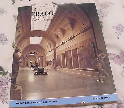 The Prado of Madrid and Its Paintings by Mia Cinotti (1973, Book, Illustrated)