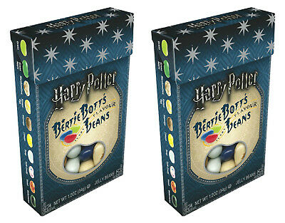 HARRY POTTER CANDY - Bertie Bott's Beans - Jelly Belly Candies - 2 x1.2oz boxes