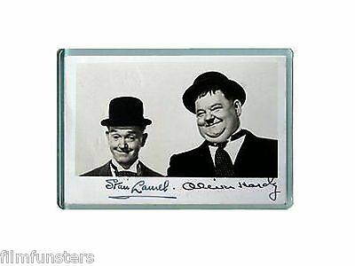 Laurel & and Hardy AUTOGRAPHS #3 Fridge Magnet