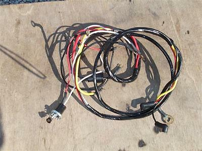 ford tractor wiring harness  800, 900, 2000, 4000 12 v  part