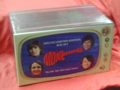 THE MONKEES '60s TELEVISION SERIES Deluxe Limited Edition VHS Box Set OOP!