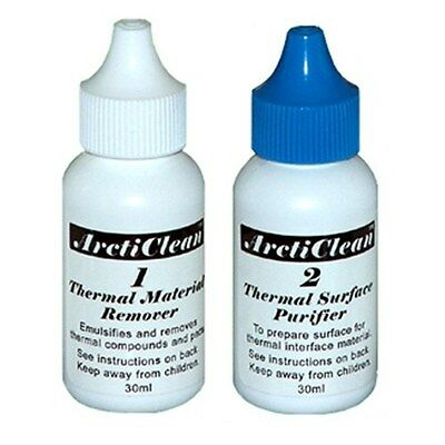 ArctiClean ACN-60ML Set 1 & 2 Thermal Paste Material Remover & Purifier Surface