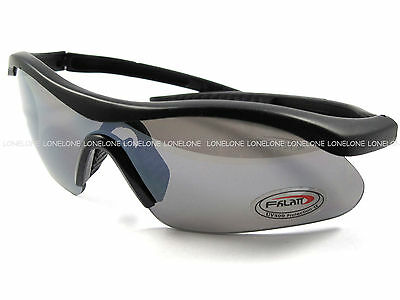China Made Airsoft Paintball Cycling IPSC Sunglasses Goggles UV066 Black Lens