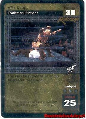 Raw Deal Ass Drop Ultra-rare Foil Rikishi