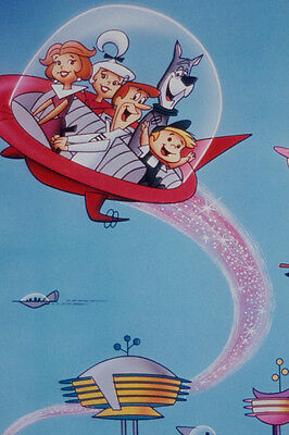 The Jetsons  24X36 Poster Tv Cast In Rocket