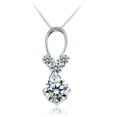"ViVi /""H /& A /"" Signity Star Diamond Pendant 3092 Birthday gift for her"