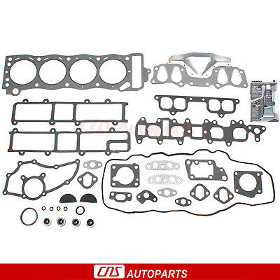 85-95 2.4L Toyota Pickup 4Runner Cylinder Head Gasket Set 22R 22Re 22Rec Engine
