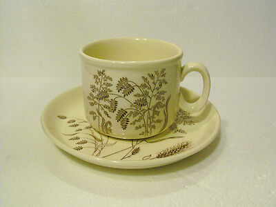 J & G MEAKIN  CUP AND SAUCER SET  WINDSWEPT PATTERN  MADE IN ENGLAND
