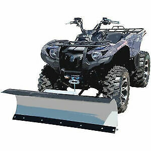 "Atv 54"" Blade Pkg Snow Plow All Makes Snowplow Winch Polaris Yamaha Can-Am Honda"