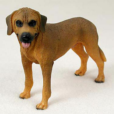 Rhodesian Ridgeback Figurine Hand Painted Collectible Statue