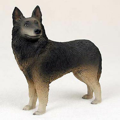 Belgian Tervuren Hand Painted Collectible Dog Figurine
