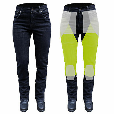 WOMENS STRETCH DENIM JEANS REINFORCED WITH DuPont™ KEVLAR®  MOTORCYCLE.26