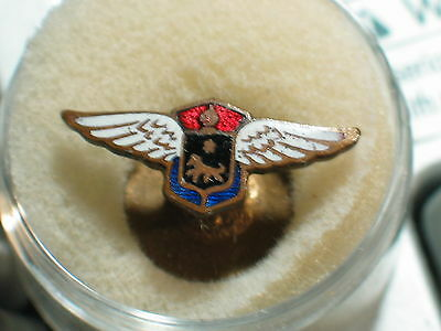 Cadillac LaSalle Pin Vintage Porcelain Button Hole or collar Badge (see pictures
