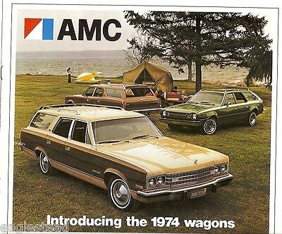 Auto Brochure - AMC - Introducing the 1974 Waqons - Car - American Motors (AB05)