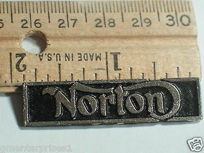Vintage Norton Name Bar Motorcycle Pin Badge   (b)