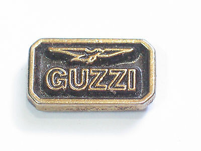 Vintage Guzzi Logo Motorcycle  Badge Pin  (b)